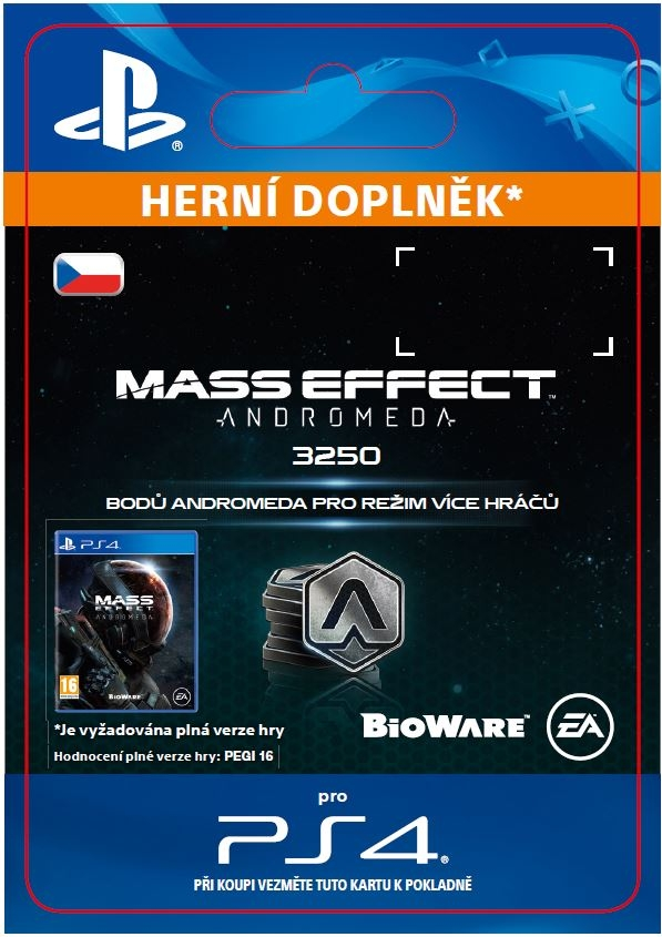 Mass Effect: Andromeda - 3250 Points (PS4 DIGITAL)