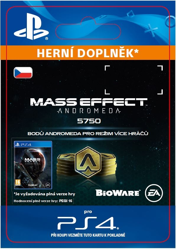 Mass Effect: Andromeda - 5750 Points (PS4 DIGITAL)