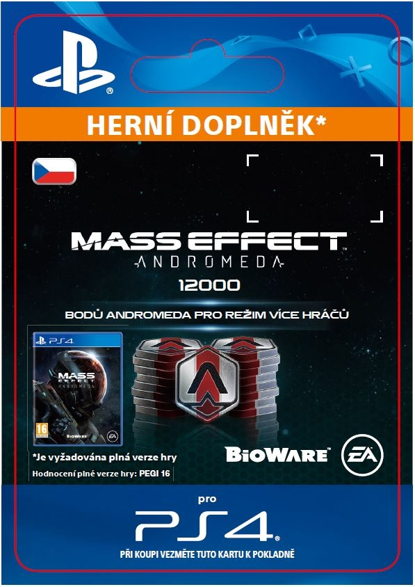 Mass Effect: Andromeda - 12000 Points (PS4 DIGITAL)