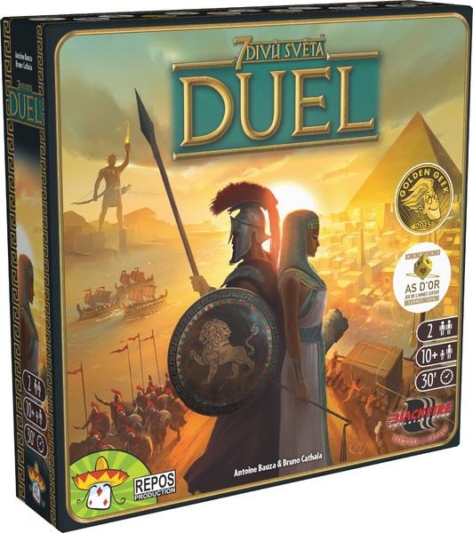 Desková hra 7 divů světa - DUEL