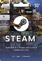 Steam - Naplnění peněženky 10 EUR