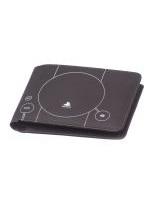 Peněženka PlayStation 1 - tmavá