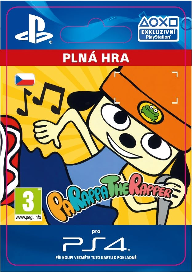 PaRappa the Rapper Remastered (PS4 DIGITAL)