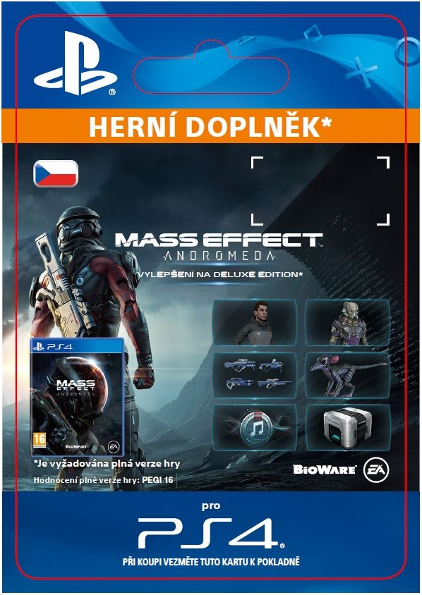Mass Effect: Andromeda - Deluxe Upgrade (PS4 DIGITAL)