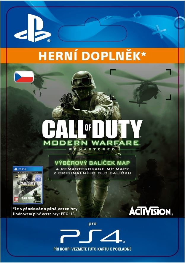 Call of Duty: MWR VARIETY MAP PACK (EFIGSP) (PS4 DIGITAL)
