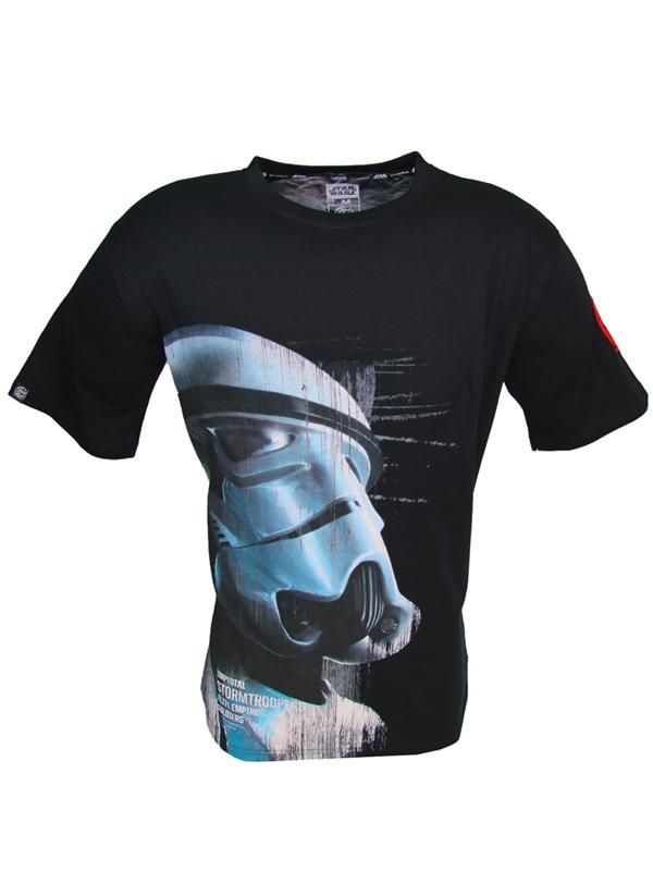 Tričko Star Wars - Imperial Stormtrooper, Černé (velikost S)