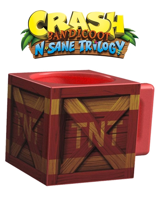 Hrnek Crash Bandicoot - TNT krabice