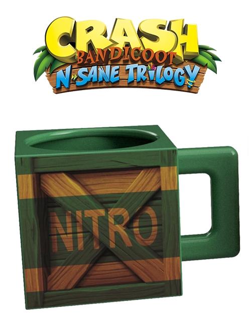 Hrnek Crash Bandicoot - Nitro krabice