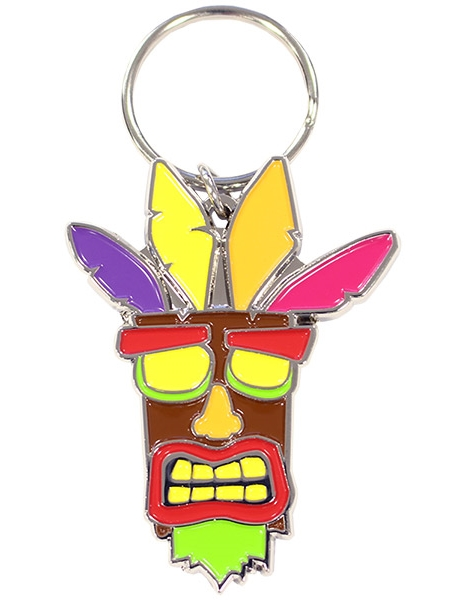 Klíčenka Crash Bandicoot - Aku Aku