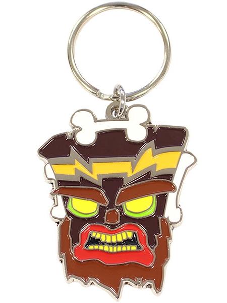 Klíčenka Crash Bandicoot - Uka Uka