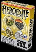 Heroes of Might and Magic IV (Platinová edice) + datadisk (PC)