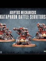 W40k: Adeptus Mechanicus Kataphron Battle Servitors (3 figurky)