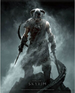 Wallscroll The Elder Scrolls V: Skyrim - Dragonborn
