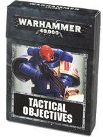 Warhammer 40000: Tactical objective cards