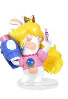 Figurka Mario + Rabbids Kingdom Battle - Rabbid Peach (8 cm) (PC)