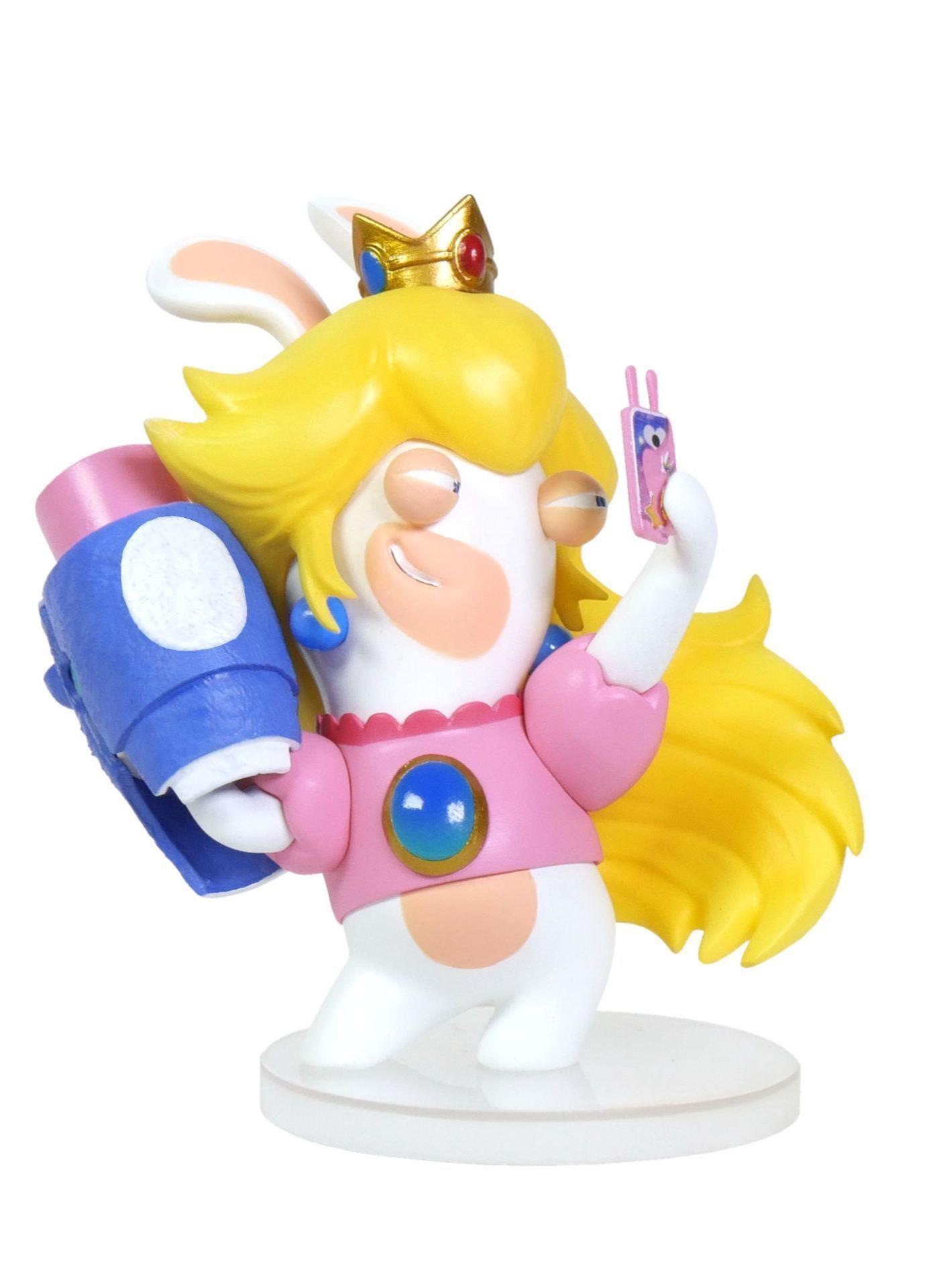 Figurka Mario + Rabbids Kingdom Battle - Rabbid Peach (16,5 cm)