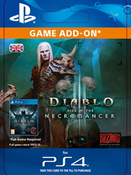 Diablo III: Rise of the Necromancer (PS4 DIGITAL)