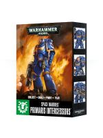 W40k: Easy To Build: Primaris Space Marine Intercessors (3 figurky)