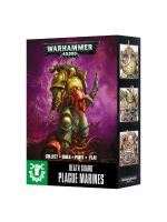 W40k: Easy To Build: Death Guard Plague Marines(3 figurky)