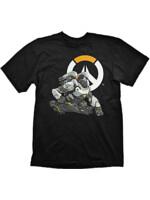 Tričko Overwatch - Winston Logo (velikost M) (PC)