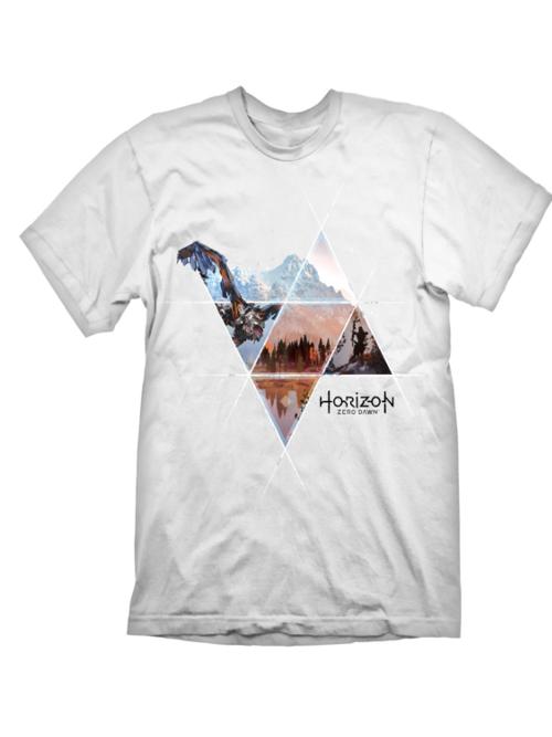 Tričko Horizon: Zero Dawn - Vast Lands (velikost L) (PC)