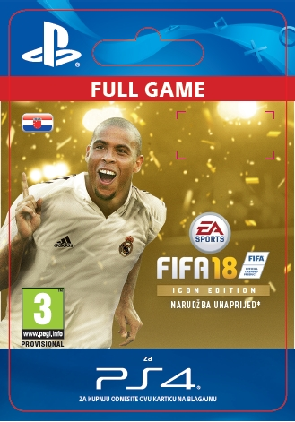 FIFA 18 - ICON Edition (PS4 DIGITAL)