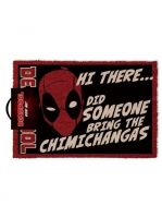 Rohožka Deadpool - Chimichangas