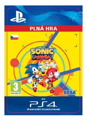 Sonic Mania (PS4 DIGITAL)