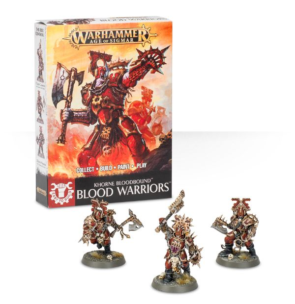 W-AOS: Easy To Build: Blood Warriors (3 figurky) (PC)