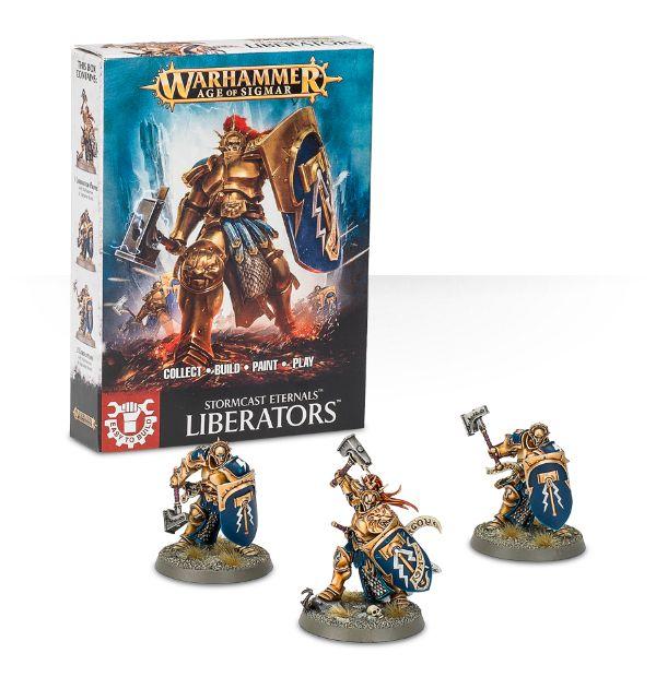 W-AOS: Easy To Build: Liberators (3 figurky) (PC)