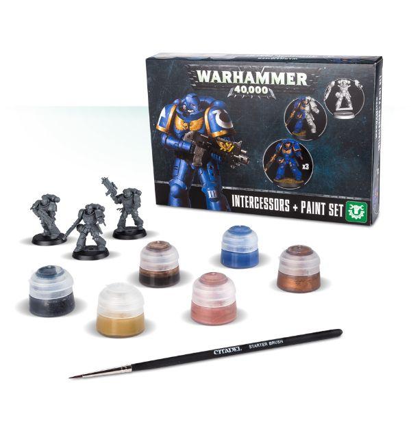 Warhammer 40000 - Intercessors + Paint Set (PC)