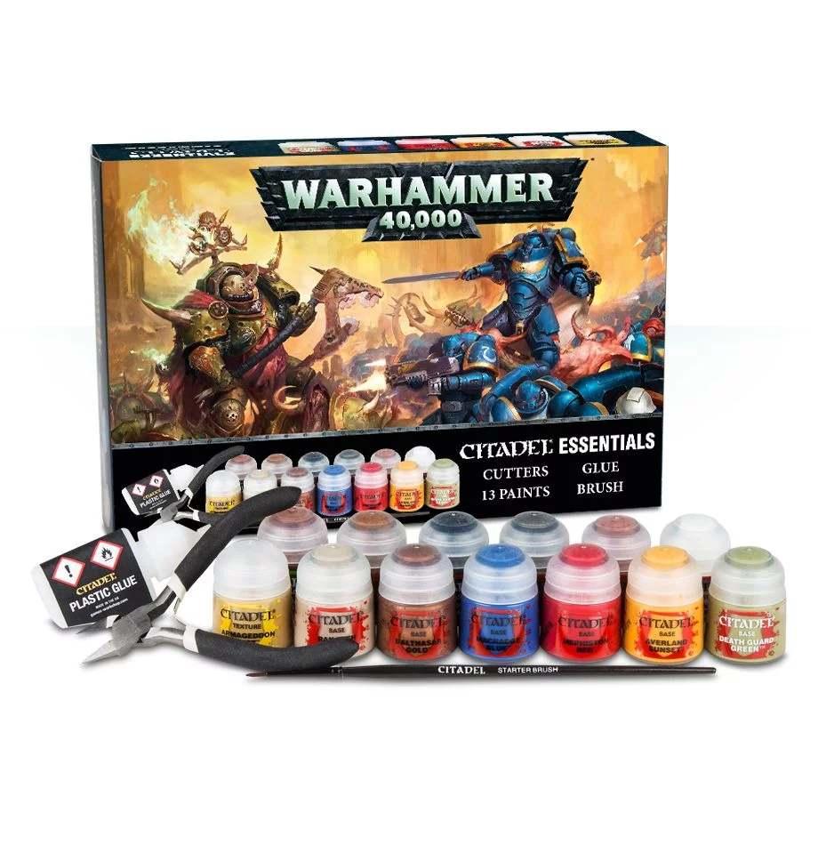 barvící sada Citadel Essentials Warhammer 40000 (PC)