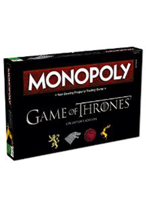 Desková hra Monopoly Game of Thrones Deluxe (PC)