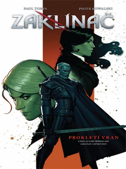Komiks Zaklínač 3: Prokletí vran (PC)