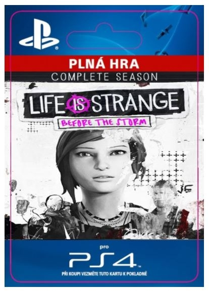 Life is Strange: Before the Storm - Complete Season (PS4 DIGITAL)