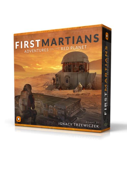 Desková hra První marťané: Dobrodružství na Rudé planetě (PC)