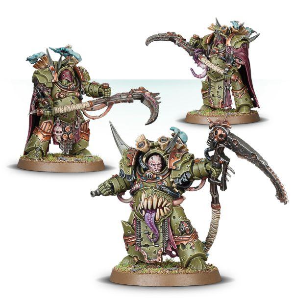 W40k: Death Guard: Deathshroud Bodyguard (3 figurky) (PC)