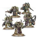 W40k: Death Guard: Blightlord Terminators (5 figurek)