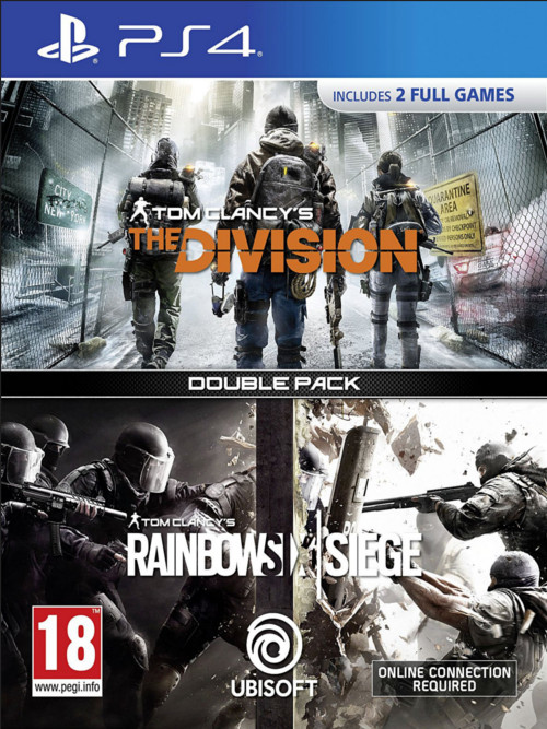 The Division/Rainbow Six: Siege Double Pack (PS4)