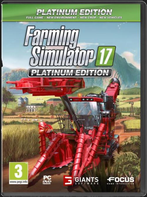 Farming Simulator 17 - Platinum Edition (PC)