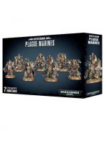 W40k: Death Guard: Plague Marines (7 figurek)