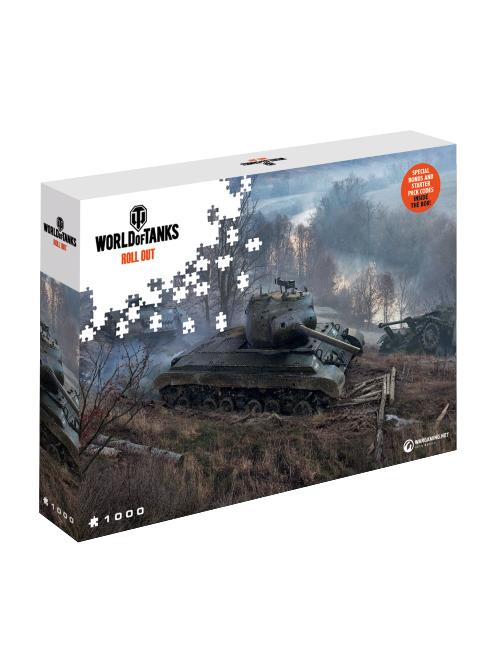 Puzzle World of Tanks - Na číhané (PC)