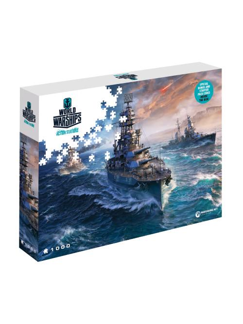 Puzzle World of Warships - Připraveni k boji (PC)