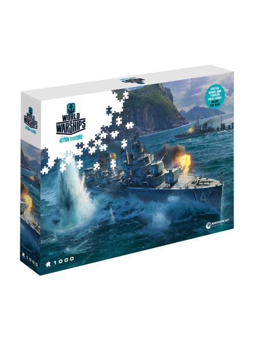Puzzle World of Warships - Panasijské torpédoborce (PC)