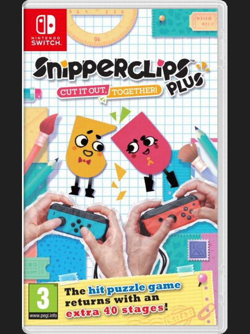 Snipperclips +: Cut it out, together! (SWITCH)