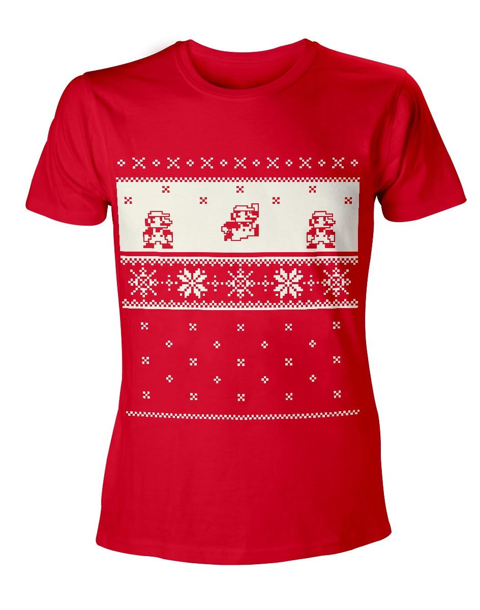 Tričko Mario - Vánoce (velikost L) (PC)