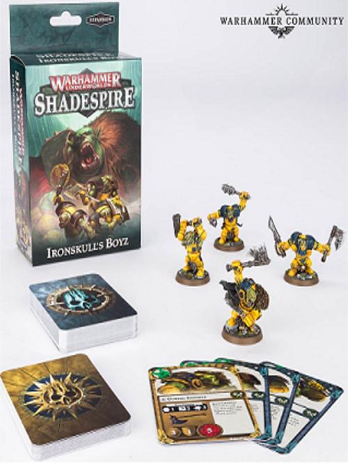 Desková hra Warhammer Underworlds: Shadespire - Ironskulls Boyz (rozšíření) (PC)