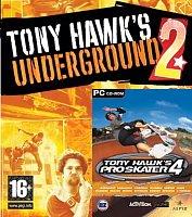 Vánoční balíček: Tony Hawk`s Underground 2 + Tony 4 (PC)