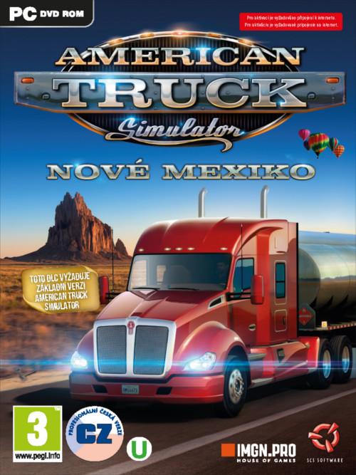 American Truck Simulátor: Nové Mexiko (PC)