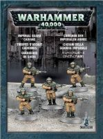 W40k: Imperial Guard Cadians (5 figurek)